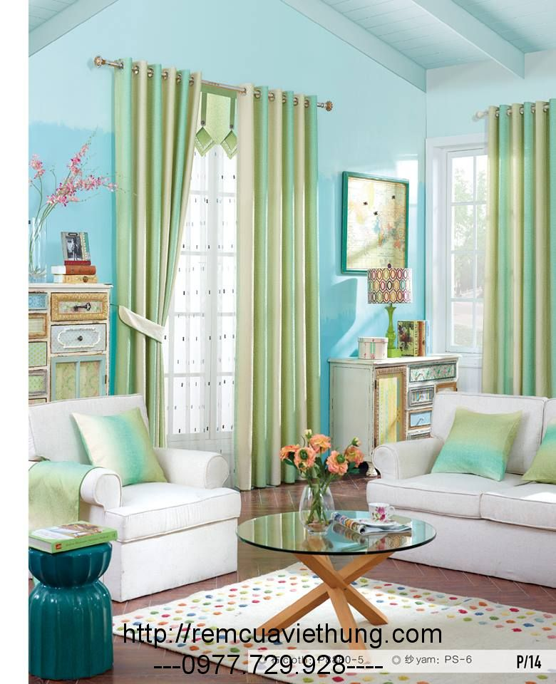 Rèm Cửa Phòng Ngủ VH TM34 -14