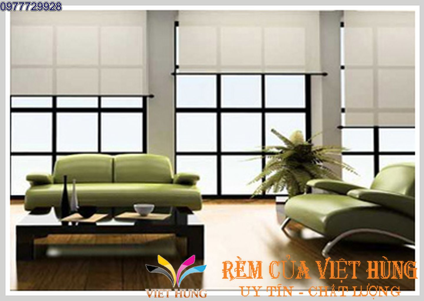 Rèm Cuốn Trơn - RCVH30