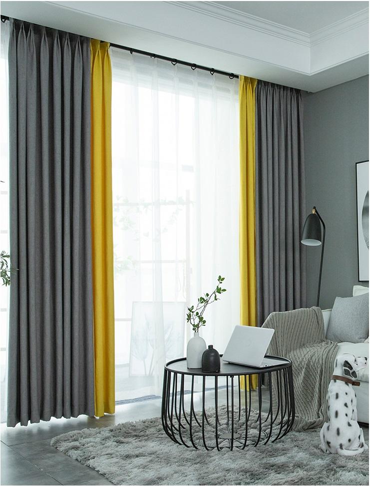 Rèm vải 2 lớp VH990-6