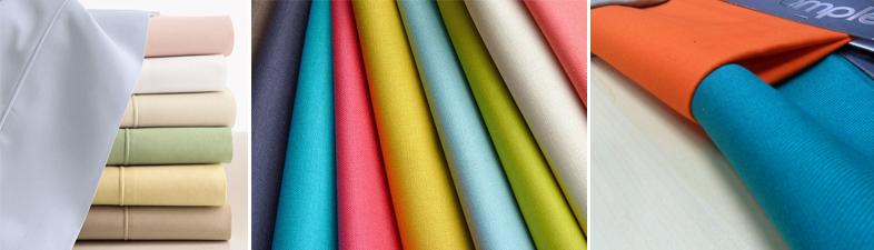rèm vải một màu