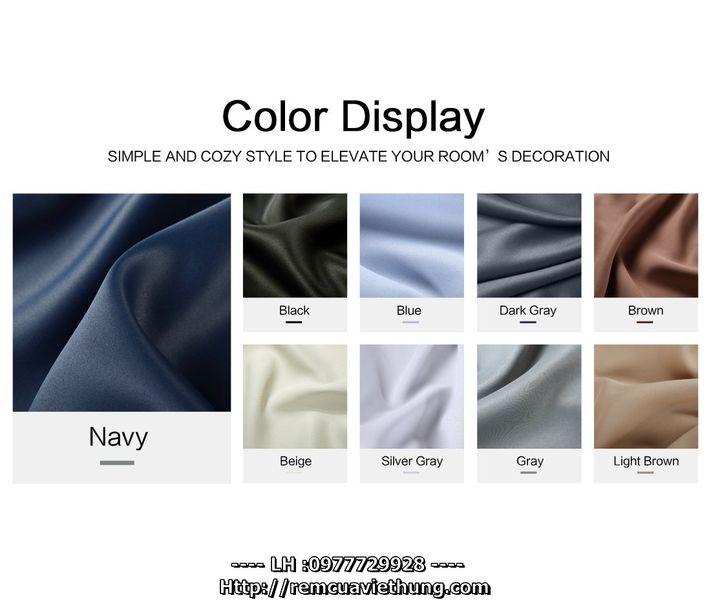 Rèm vải Một Màu - VM (10)