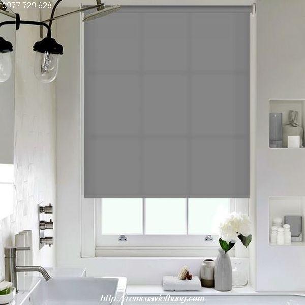 Sử dụng rèm cuốn mang lại không gian hiện đại và tiện dụng