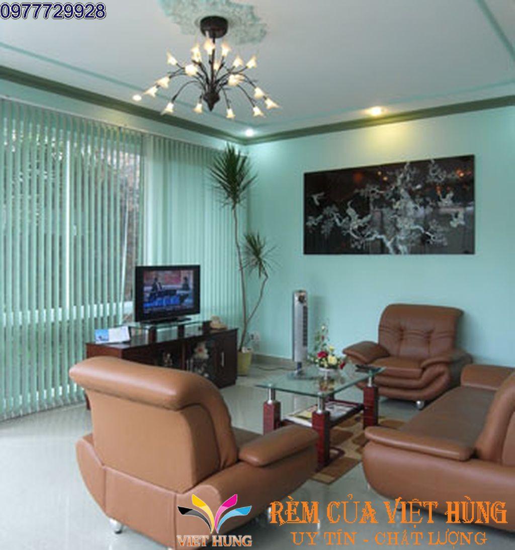 Bí quyết cho những bộ rèm lá dọc cực kì linh động cho khung cửa nhà bạn.