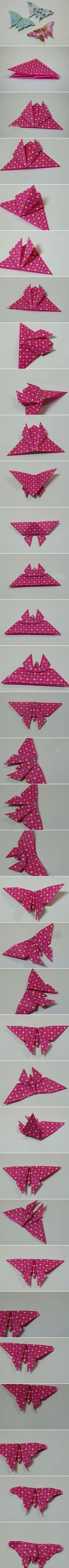 Cách làm những chú bướm đầy màu sắc thật đơn giản  54