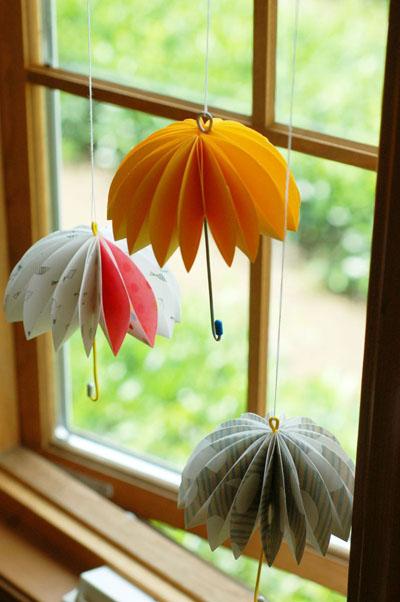 Hướng dẫn cách làm ô giấy treo cửa sổ