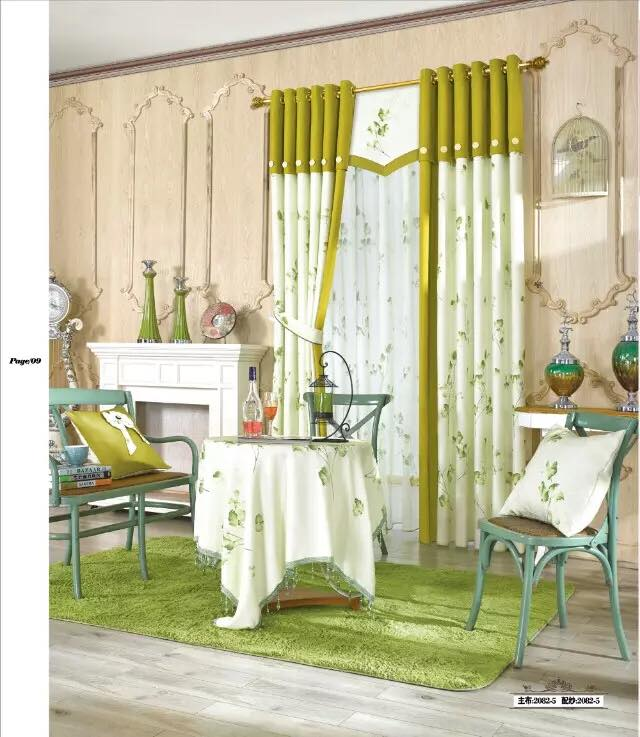 Lựa chọn rèm vải cho phòng khách