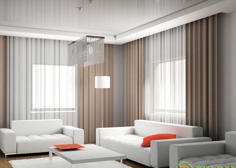 rèm cửa đẹp cho không gian phòng khách