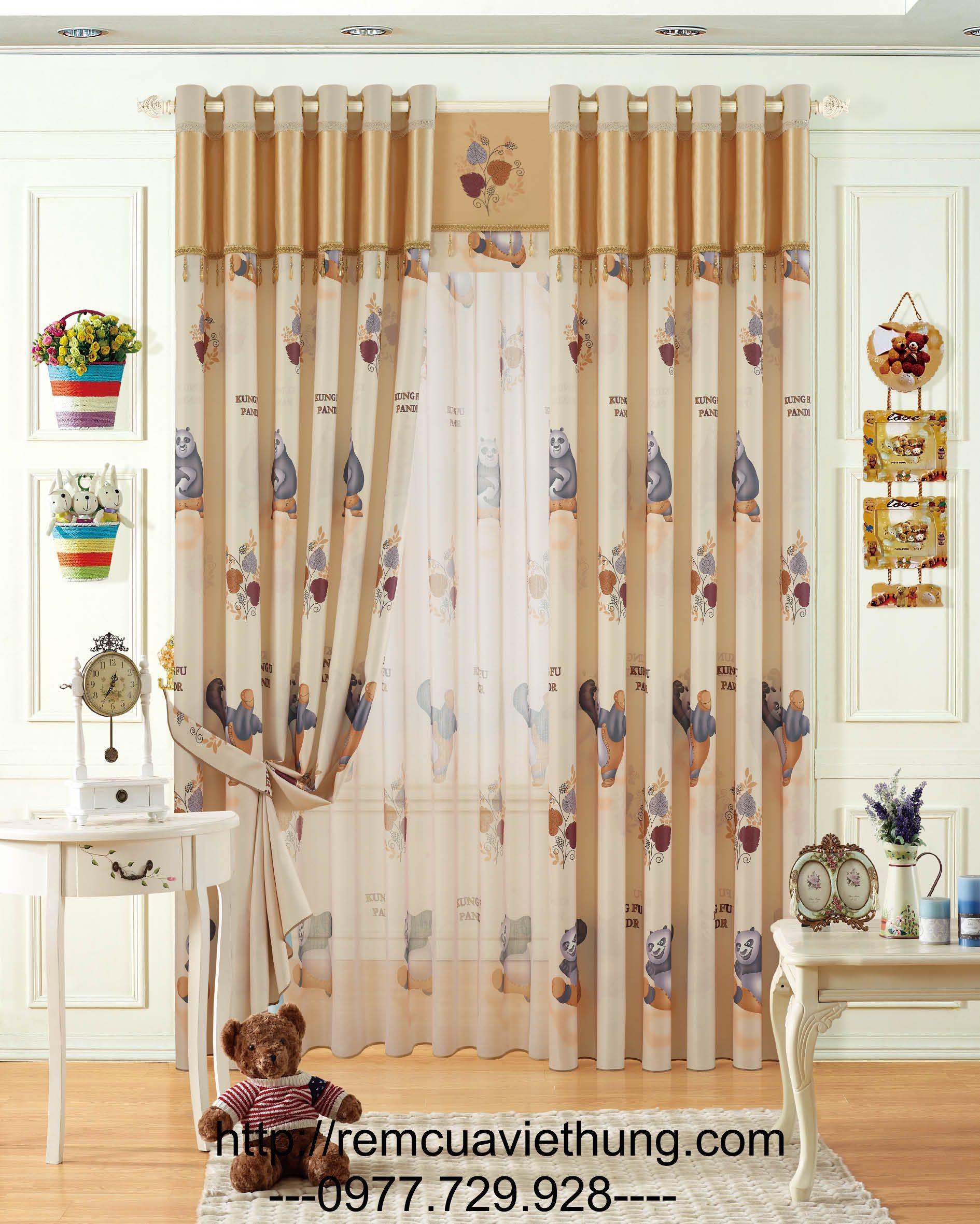 Rèm Vải giá rẻ VH AGL 10035-1