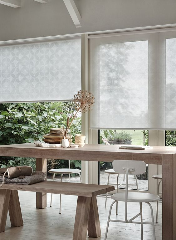 Luxaflex® Designer Roller Blinds stunning fabrics, designs and award winning operation.