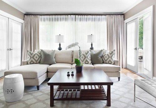 những mẫu rèm phòng khách được ưa thích theo thời gian