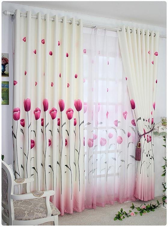 ưu điểm của việc sử dụng rèm vải có hoa văn